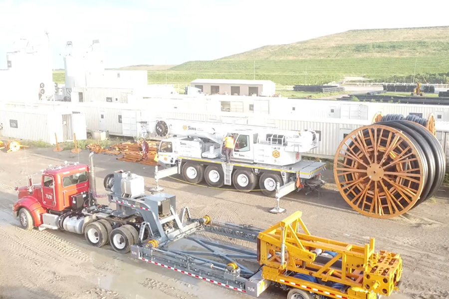 Tubi USA Produces Pipe With Mobile Extrusion Plants